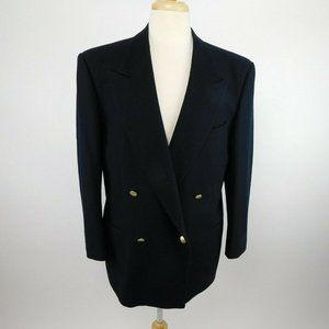 Valentino Vintage Double Breasted Blazer Jacket